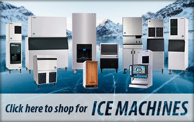 Shop for ice machines at A-1 Restaurant Supply & Equipment Inc