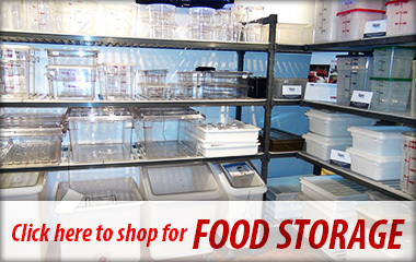 Shop for food storage at A-1 Restaurant Supply & Equipment Inc